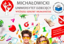 Michałowicki Uniwersytet Dziecięcy – korekta terminów wykładów
