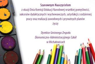 Życzenia z okazji Dnia Komisji Edukacji Narodowej