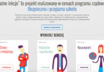 Gmina Michałowice będzie  redagować stronę internetową www.waznelekcje.pl nazlecenie Wojewody Małopolskiego.