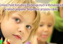 Przypomnienie – Dyżur Gminnego Punktu Konsultacji Psychologicznych wMichałowicach