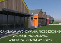 ORGANIZACJA WYCHOWANIA PRZEDSZKOLNEGO W GMINIE MICHAŁOWICE W ROKU SZKOLNYM 2018/2019