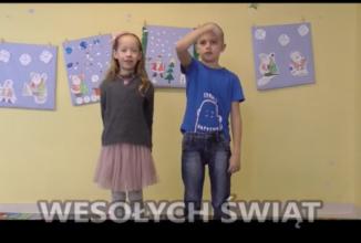 Życzenia świąteczne w nietypowej formie – w Polskim Języku Migowym…